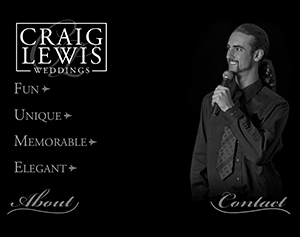 Craig Lewis Weddings Flash Site